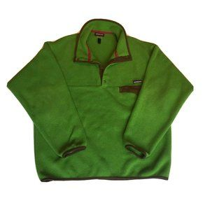 Patagonia Synchilla Snap T Fleece Sweater Men's L